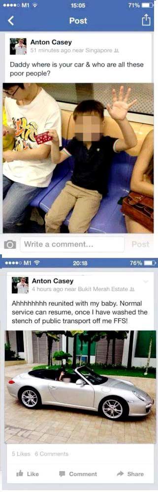 Anton Caseys offensive tweets