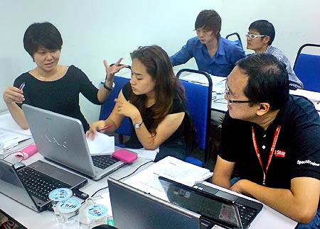 Social Media Journalism training